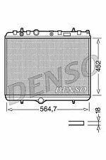 1x Denso Radiator DRM21055 DRM21055
