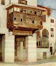 A4 Photo Tyrwhitt Walter 1859 1932 Cairo Jerusalem and Damascus 1912 Old house n