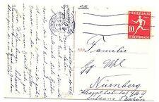 NETHERLANDS 1928 OLYMPICS  PPC # 217   TO GERMANY  FINE