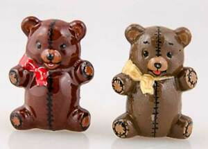 """Pair of Ceramic Bear Figurines approx  2 ½"""" high"""