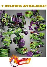Jinbao Oversized Devastator Transformation Gravity Builder Figure Toy Kids Set