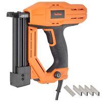VonHaus Electric Nail Gun 18 Gauge Brad Nailer Stapler for Soft Wood, Upholstery