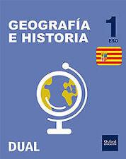 (ARG).GEOGRAFIA HISTORIA 1ºESO (INICIA) *ARAGON*. ENVÍO URGENTE (ESPAÑA)