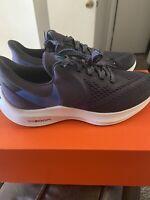 Nike Air Zoom Winflo 6 Running Shoes,Men's Size 8.5gridiron/mountain Blue -Black