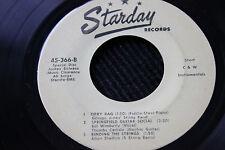 Historical DISC JOCKEY-ONLY 6-Song INSTRUMENTAL 45rpm Starday Records Nashville