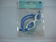 "Jolee's By You ""Goggles"" Swimming 3 pcs Dimensional Stickers #V5"