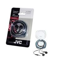 3 x JVC HEAPHONE/EARPHONES  FOR IPHONE, IPOD, MP3 PLAYER, BLACKBERRY , IPAD