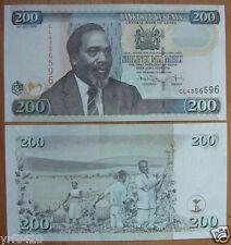 KENYA 200 Shillings Paper Money 2010 UNC