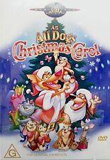 An All Dogs Christmas Carol DVD Region 4 PAL NEW & Sealed