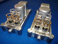 Audiophile Grade Vacuum Tube Valve Amplifier. Mono Block Integrated.Upgraded.