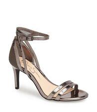 NIB Jessica Simpson MAYETTA Gunmetal Mesh Strappy Dress Sandals Size 8 MSRP $79