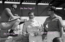 Jim Clark & Colin Chapman Lotus F1 South African Grand Prix 1968 Photograph