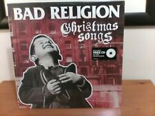 Bad Religion - Christmas Songs LP with Bonus CD Epitaph 2013  BRAND NEW SEALED!