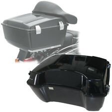 """13"""" Black King Tour Pak Pack Trunk Fit For Harley Touring Road King Glide 97-13"""