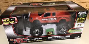 New Bright RC Trucks Ford Raptor 2.4 GHz NEW