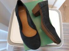 Clarks Emerson Jazz Blue Suede Shoes Size 7
