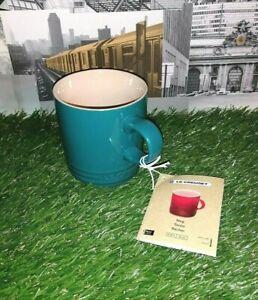 Le Creuset Stoneware 350ml Caribbean Blue Cappuccino Coffee Mug Tazon Becher ☕