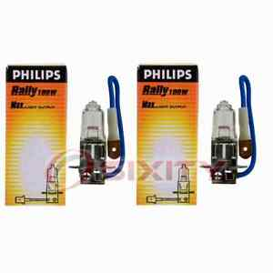 2 pc Philips Cornering Light Bulbs for BMW 1 Series M 128i 135i 328i 328i zd