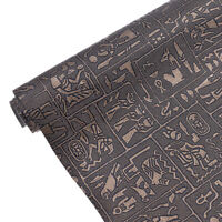 A3 Egyptian PVC Leather Fabric Vintage DIY Handmade Sewing Cloth Copper Supplies