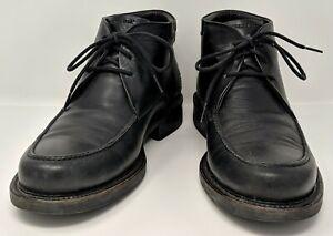 Panama Jack (Havana Joe) - PR15 - Black Leather Chukka Ankle Boots - Men's US 11