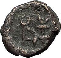 ANASTASIUS I 491AD RARE Nummus Authentic Ancient Byzantine Coin MONOGRAM i59341