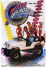 THE GREAT BIKINI OFF-ROAD ADVENTURE Movie POSTER 27x40 Avalon Anders Lauren Hays