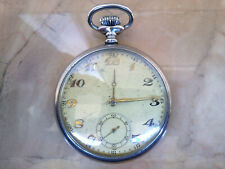 vintage swiss POCKET WATCH -works fine
