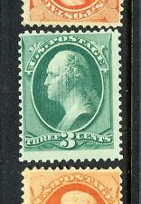 Scott #158e Washington Grill Stamp with Pf Cert (Stock #158-12)