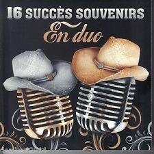 16 Succès Souvenirs En Duo CD Artistes Varié WESTERN LA BOLDUC TI-GUS TI-MOUSSES