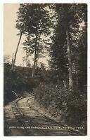 RPPC Kane & Elk Railroad JAMES CITY PA McKean Elk County Real Photo Postcard