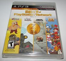 Best Of Playstation Network Playstation 3 Brand New! Sound Shapes, Tokyo Jungle