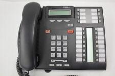 Nortel Norstar T7316E Charcoal Avaya Phone (NT8B27)   A-Stock  T7316 7316