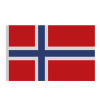5FEET x 3FEET Norway NORWEGIAN National Flag Europe Country Banner Large