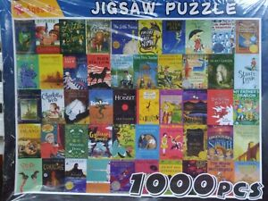 Children's Book Classics Jigsaw Puzzle 1000 Piece Brand New Factory Sealed