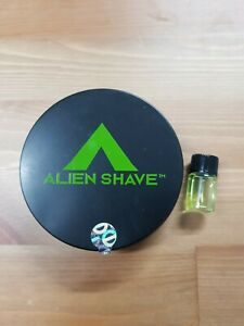 Alien Shave Vegan Shaving Soap Used