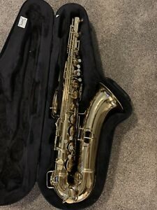 """C.G. Conn 10M Tenor Saxophone 1934 """"Naked Lady"""" M262216 w/ Softpack Case By Bam"""