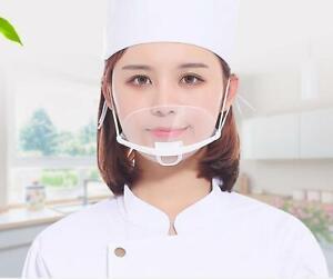 10x Stück Gesicht Visier Gesichtsschutz Hygiene   Face Shield Gesichtsvisier