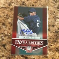 Edwin Diaz Signed 2012 Elite Extra Edition Rc Auto New York Mets Mariners