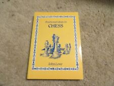 Positional Ideas in Chess by John Love (1985, Paperback, Illustrated)