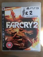 FAR CRY 2 FOR THE SONY PS3