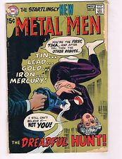 Lot Of 2 Metal Men DC Comic Books # 40 41 GD Copies Superman Batman Flash J55