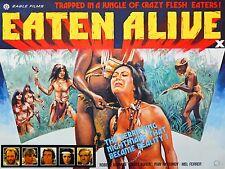 "Eaten Alive 16"" x 12"" Repro Movie Poster Photograph"