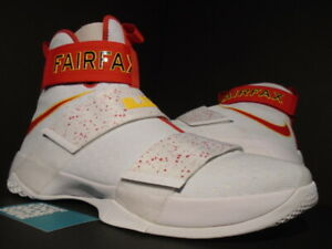 NIKE LEBRON SOLDIER X 10 FAIRFAX PLAYER EXCLUSIVE PE PROMO SAMPLE WHITE RED 15