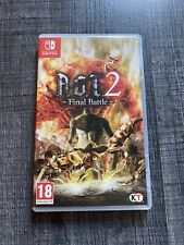 A.O.T 2 Attack on Titan 2 Final Battle Switch Fr