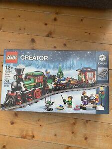 Lego Creator 10254 Le train de Noël neuf scellé