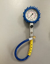 MANOMETRO SPIRALFLEX per auto moto PRESSIONE GOMME 63mm precisione AIR PRESSURE