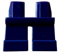 Lego 2 Stück kurze dunkelblaue (dark blue) Beine Hosen 41879 City Basics Neu