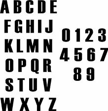 Numbers Letters Bathroom Art Wall Decals & Stickers