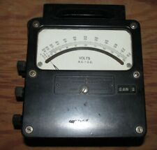 Weston Electrical Instruments Zero Corrector, AC V and DC V 150 - 300 - 750V