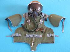 RUSSIAN SOVIET AIRBORNE TROOPS Pilot ARMOR VEST BZH-2 & ZSh-3B Helmet & Ox Mask